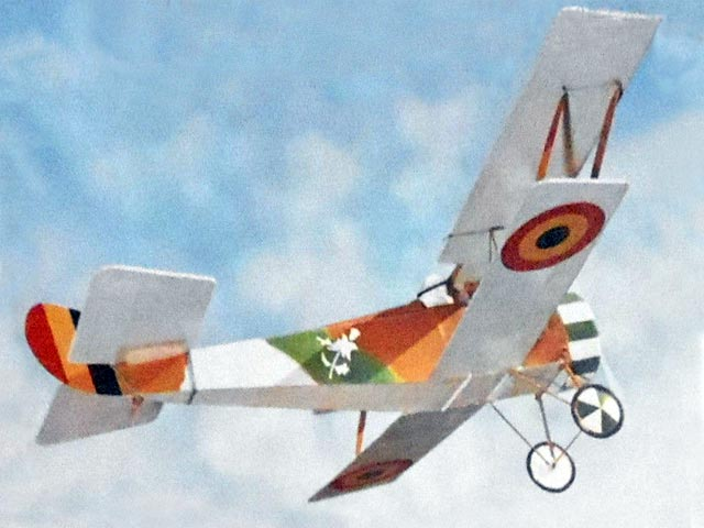 Hanriot HD.1 - completed model photo