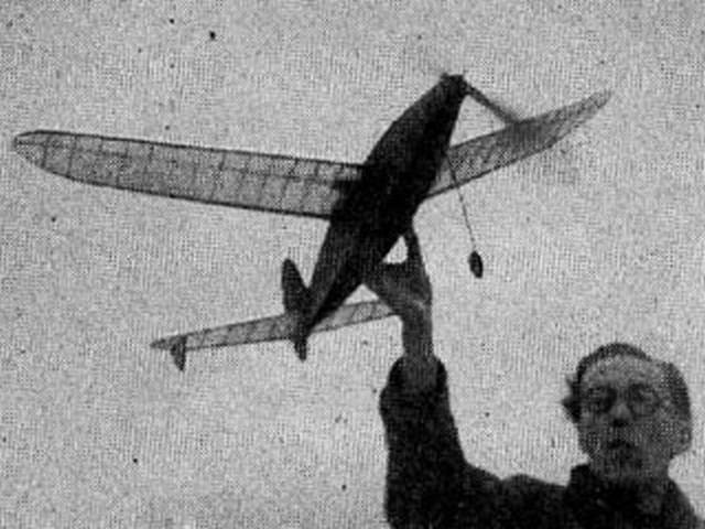 Warring Lightweight (oz4222) by Ron Warring from Aeromodeller 1948