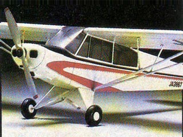 Piper PA-18 Super Cub (oz4228) by Y Matsumoto from OK Model Pilot