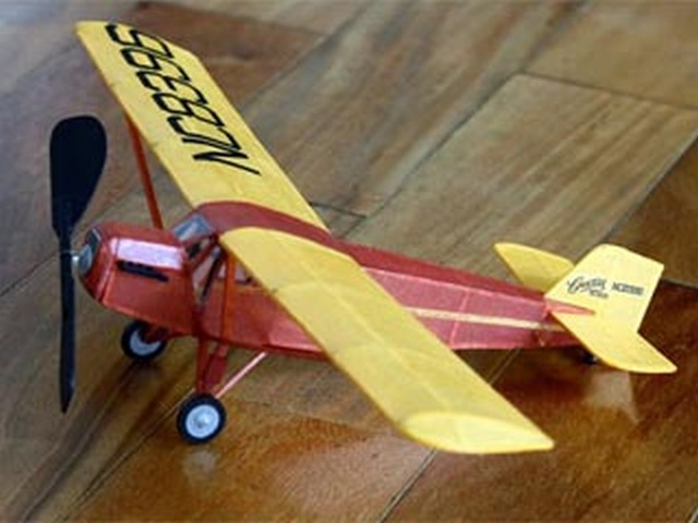 Curtiss Robin (oz4236) from Burd Model Airplane