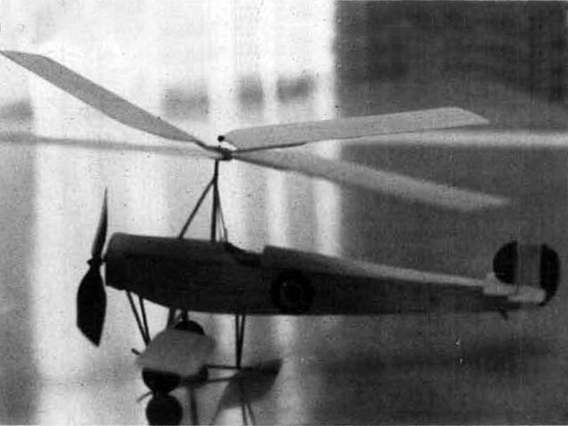 Cierva C.6C  (oz4241) by Don Drury from Model Builder 1979