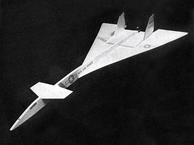 B-70 Valkyrie (oz4257) by Bob Linn from Aeromodeller 1961