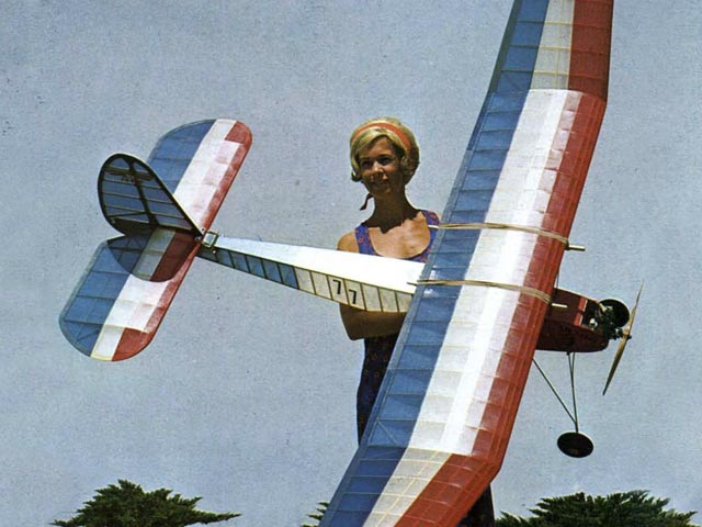 Lanzo Record Breaker (oz427) by Chester Lanzo from Model Airplane News 1939