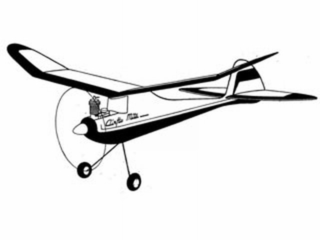 Airflo Mite (oz4294) by Ron Warring from Model Aviation 1948