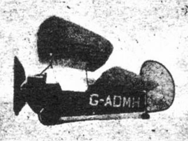 Le Pou du Ciel (oz431) by KW Hamilton from Flying Aces 1936