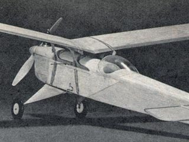 Double Duty Skylark (oz4320) by Charles H Grant from Air Trails 1951