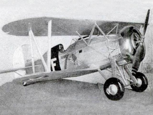 Boeing F4B-4 (oz4354) from Miniature Aircraft Corp 1935