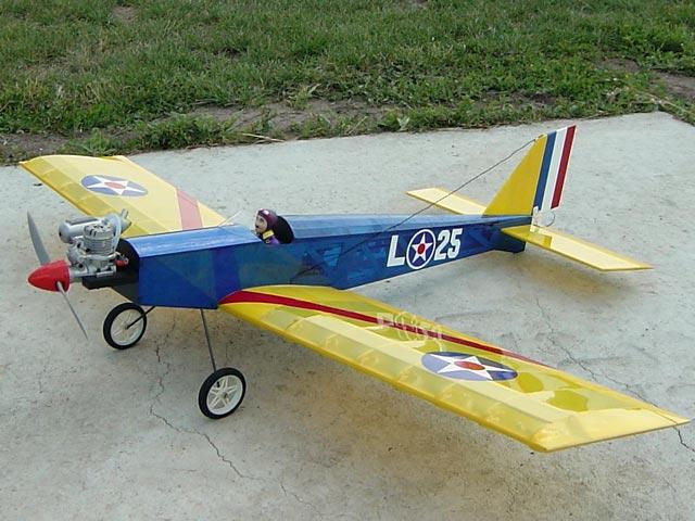 Barnstormer 25L (oz4365) from OK Model Pilot 1984