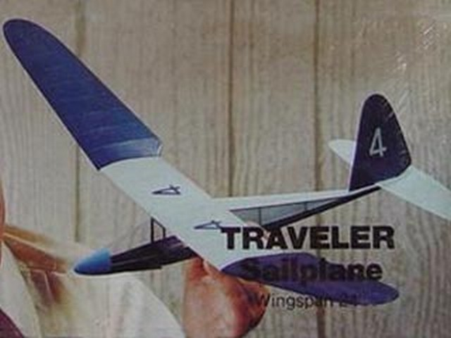 Traveler Sailplane (oz4389) by Vito M Garofalo from Tern Aero 1970