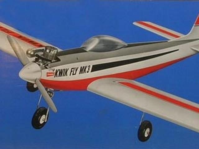 Kwik Fly Mk3 - completed model photo