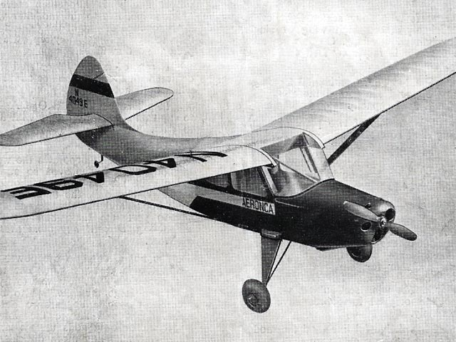 Aeronca Sedan (oz4461) by Ron Young from Mercury 1952