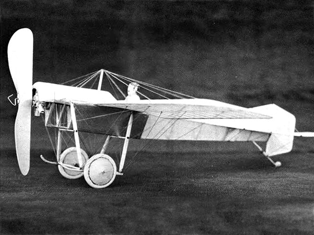 Blackburn Monoplane (oz4464) by John Blair from Model Builder 1975