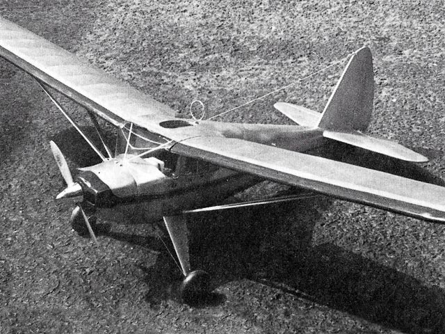 Luscombe 50 (oz448) by Tom Mountjoy from Flying Aces 1940