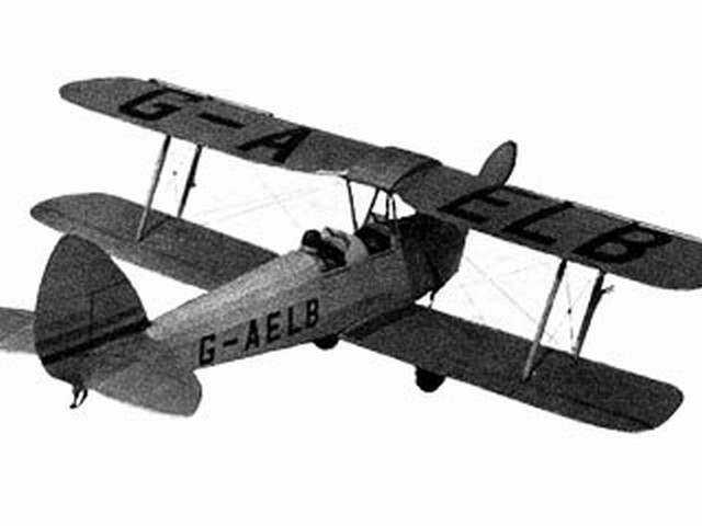 DH Tiger Moth (oz4494) by Rupert Moore from Aeromodeller 1946