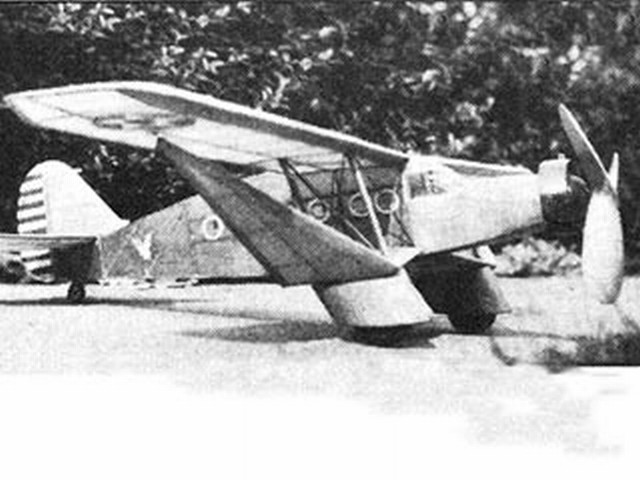 Bellanca Aircruiser - completed model photo