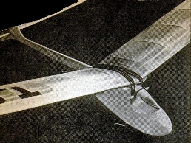 Towline Glider (oz4514) by Jay T Holmes from Popular Science 1946