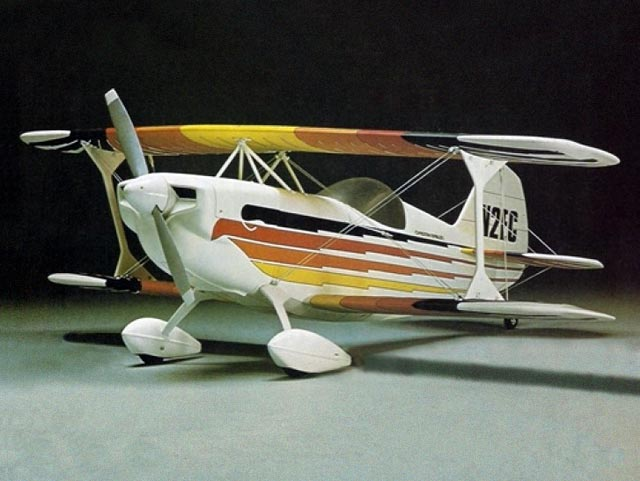 Christen Eagle (oz4560) from OK Model Pilot 1980