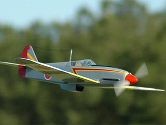 Kawasaki ki-61 Hien (oz4576) by Allen Lawton from Golden Age Reproductions 1985