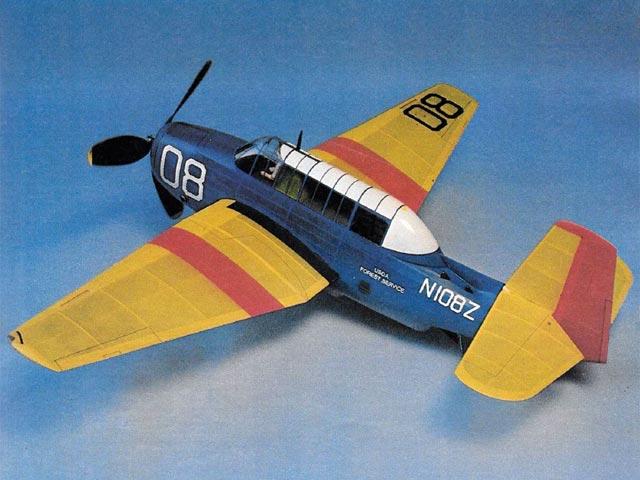 Grumman TBM-3U (oz4578) by Bill Noonan from Model Airplane News 1981