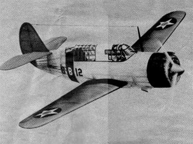 Curtiss SB2C-1 (oz4595) from Scientific 1941