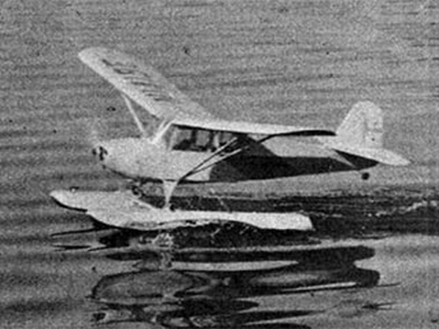 Aeronca Champion (oz4682) by Walt Mooney from Model Airplane News 1957