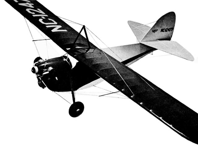 Aeronca C-3 (oz4686) by Chuck Hollinger from Air Trails 1949