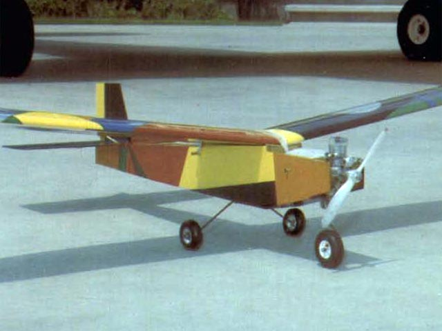 Square Hare (oz4687) by Bill Northrop from Model Builder 1975