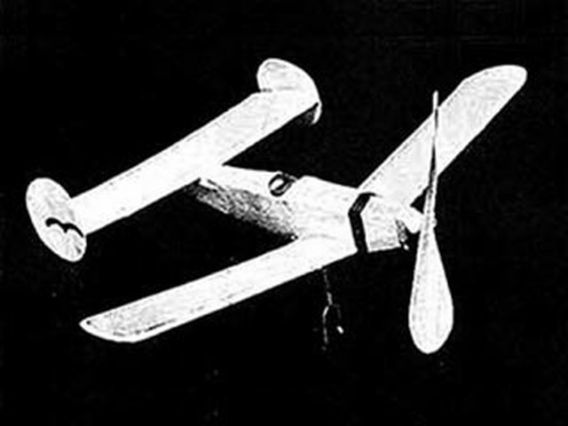 Mauboussin Tandem (oz4690) by Herbert K Weiss from Model Airplane News 1938