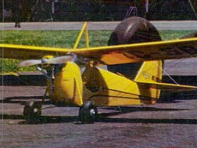 Aeronca C-3 (oz4693) by Ralph Fidance from Model Airplane News 1966
