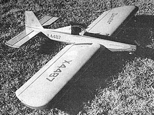 AG-1 Duster - completed model photo