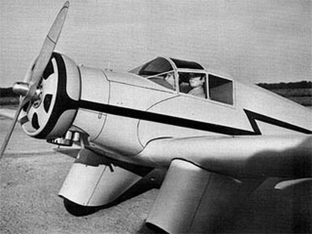 Aeronca Model L (oz4711) by Bruce Lund from Flying Models 1974