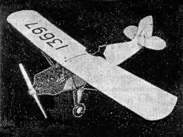 Corben Super Ace (oz4716) by Barney Snyder from Modelcraft 1936