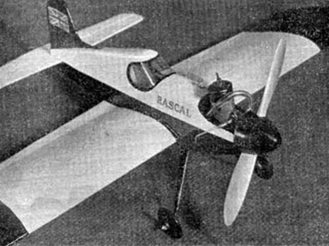 Rascal (oz4718) by RG Moulton from Aeromodeller 1957