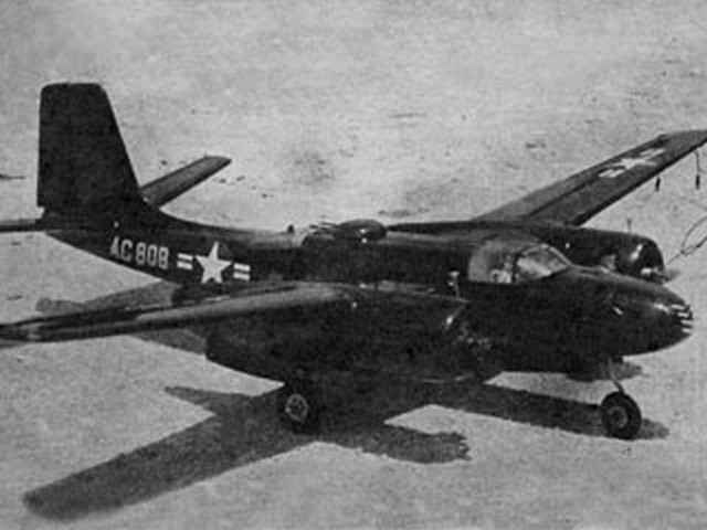 Douglas B-26 Invader - completed model photo
