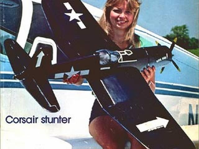 F4U Corsair Stunter (oz4730) by Jack Sheeks from Flying Models 1978