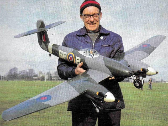 Westland Whirlwind - completed model photo