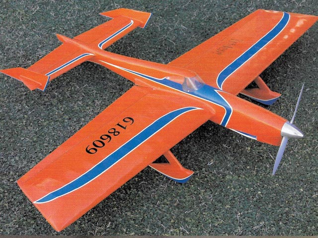 570 (Trident) (oz4737) by Larry Scarinzi from Model Airplane News 1962