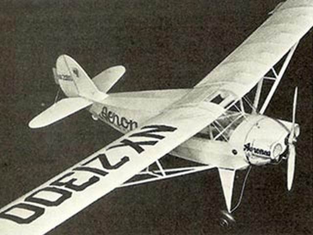 Aeronca Chief 50 (oz4739) by Paul Lindberg from Popular Aviation 1939