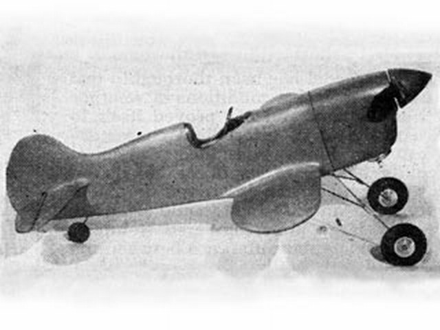 Speedster (oz4742) by Frank Greene from Falcon Model Airplane 1945