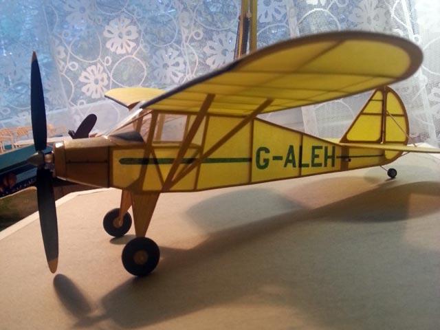 Piper PA-15 Vagabond - oz4752 - Lada