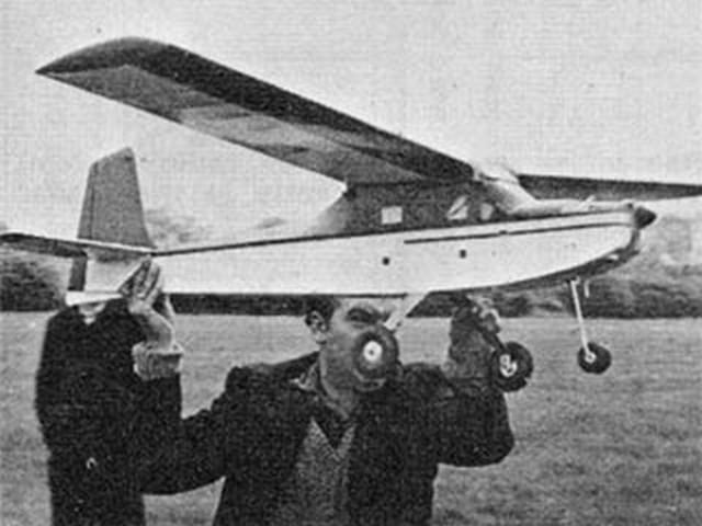 Big Flapper (oz4759) by David Boddington from American Aircraft Modeler 1972