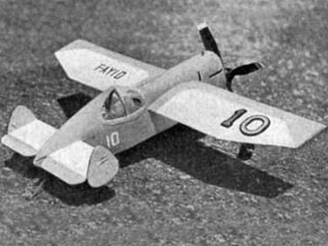 Jabberwocky (oz4770) by Bill Hume from Aeromodeller 1953