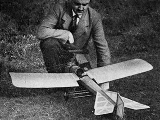 1912 Blackburn Monoplane - completed model photo