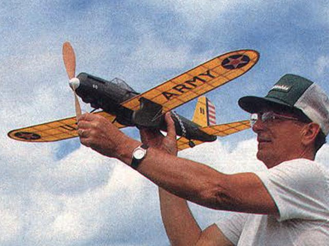 Curtiss Shrike YA-8 (oz4778) by Ted Schreyer from Model Builder 1991