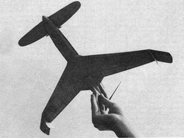Curtiss XP-55 Ascender  (oz4783) by Tom Nallen from Model Builder 1978