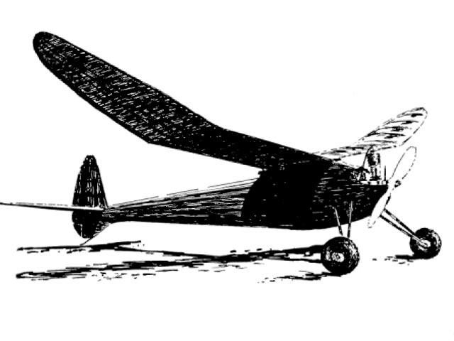 Skyrocket (oz479) by Larry Eisinger  from Model Builder 1980