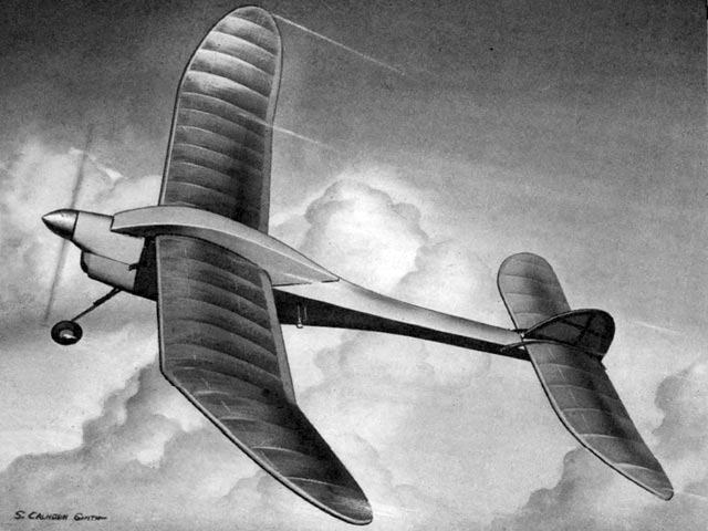 Pacific Soarer (oz4793) by Don Foote from Air Trails
