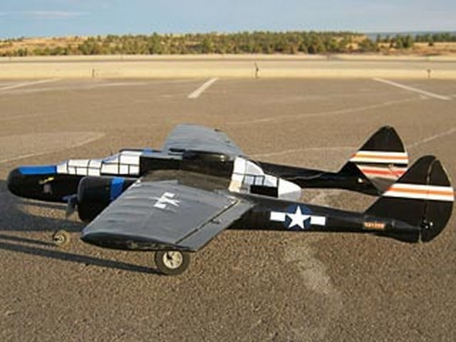 Northrop P-61 Black Widow - completed model photo