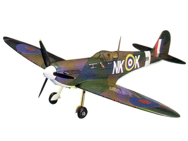 Supermarine Spitfire MkII - completed model photo