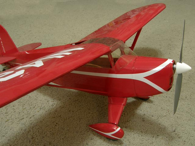 Rearwin Speedster - completed model photo